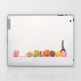 Paris, macarons and the eiffel tower Laptop & iPad Skin