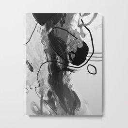 Brush Metal Print