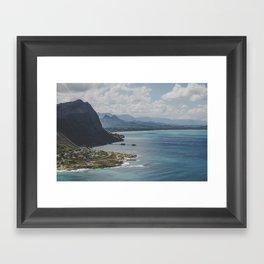 Makapu'u Coastline - Hawaii Framed Art Print
