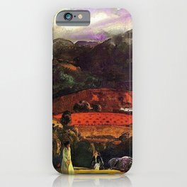 Mountain Valley Golf Course, California by George Wesley Bellows iPhone Case