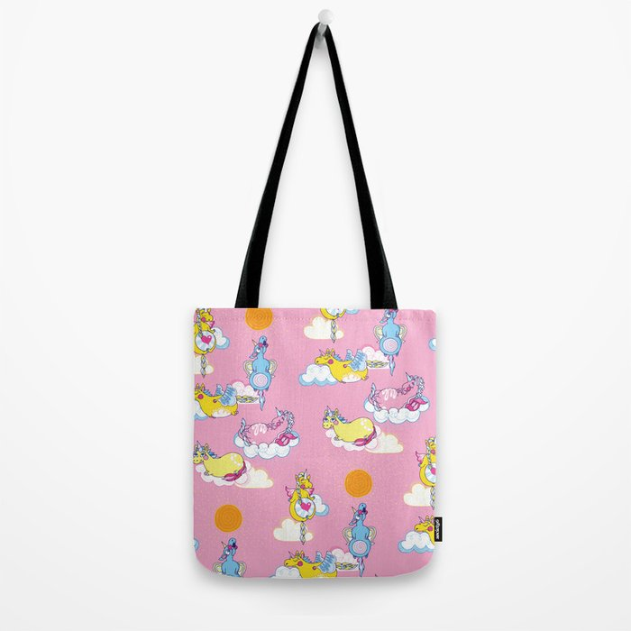 Happy Little Unicorn Tote Bag