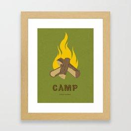Childish Gambino - Camp Framed Art Print