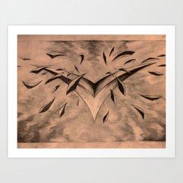 Foil Art Print