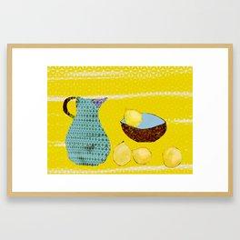 4 Lemons Framed Art Print