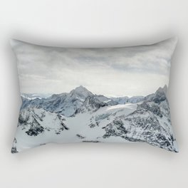 The Mountains Are Calling #3 Rectangular Pillow