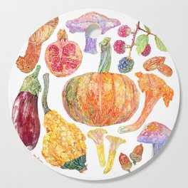 Seasonal Fruits Cutting Board