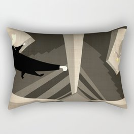 Hitchcock's Vertigo Rectangular Pillow