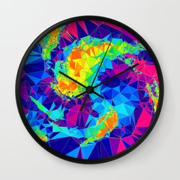 Into The Unknown XCIV Wall Clock
