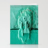 platypus Stationery Cards featuring Platypus Face  by Ethna Gillespie