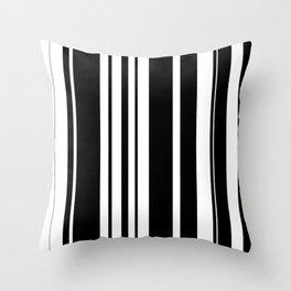 Black and white stripes 2 Throw Pillow