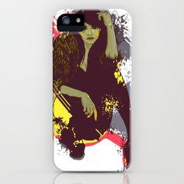 woman K. iPhone Case