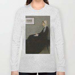 James Abbott Whistler - Whistler's Mother Long Sleeve T-shirt