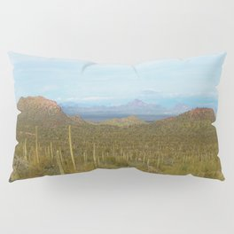Arizona Landscape with Saguaro cactus Pillow Sham