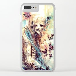 Rick Genest - Zombie Boy Clear iPhone Case
