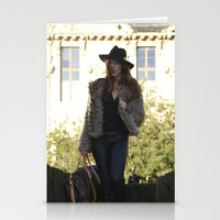 gucci Stationery Cards featuring Fashion 4 by Anthony Marra