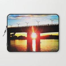 Queensway Bridge at Sunset Laptop Sleeve