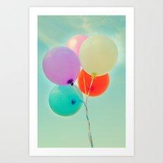 Balloons Art Print
