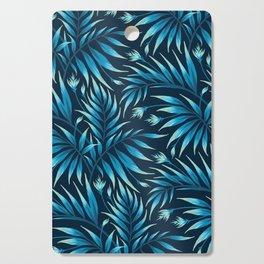 Waikiki Palm - Petrol Blue Cutting Board