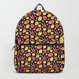 Italian Peppers and Tomatoes - Dark Backpack