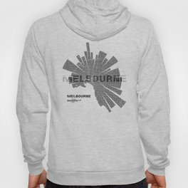 Melbourne Map Hoody