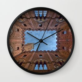The Palazzo Comunale Wall Clock
