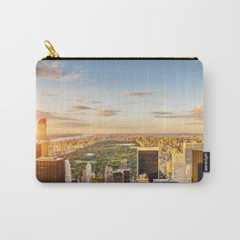 Central park at sunset - aerial view Carry-All Pouch