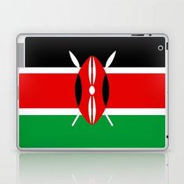 Kenya country flag Laptop & iPad Skin
