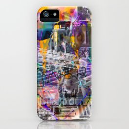 "Lost The Plot In The Last Quarter (or Art Instructors Hate The Term ""Cathartic"", So...) iPhone Case"