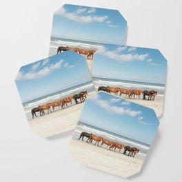 Beach Horses Coaster