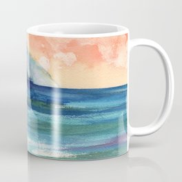 Ke'e Beach Coffee Mug