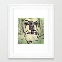 vendetta Framed Art Prints featuring VENDETTA by INEVITABLE 27