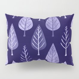 Watercolor Forest Pattern #8 Pillow Sham
