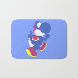 Yoshi(Smash)Blue Bath Mat
