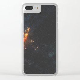 baryon sweep Clear iPhone Case