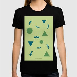 9    190203 Simple Geometry Shapes T-shirt