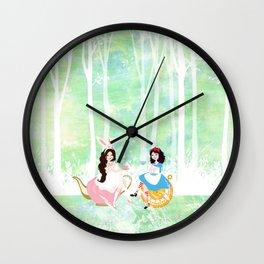 Tea Time Wall Clock