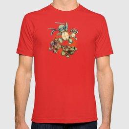 TEENAGE MUTANT NINJA PLUSHIES T-shirt