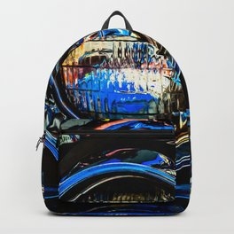 Double Headlights Color Backpack