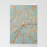 crystal Stationery Cards featuring Crystal by Françoise Reina