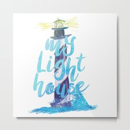 My Lighthouse Metal Print