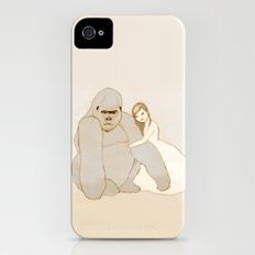 Gorilla and Girl Slim Case iPhone (4, 4s)