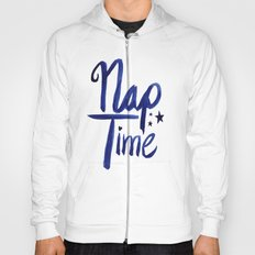 Nap Time | Lazy Sleep Typography Hoody
