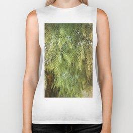 Green Tree. Vegetal Photography Biker Tank
