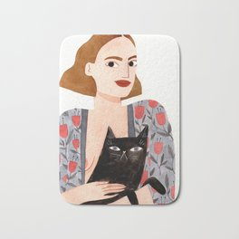 Anne et Margot Bath Mat