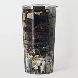 George Bellows - Cliff Dwellers Travel Mug