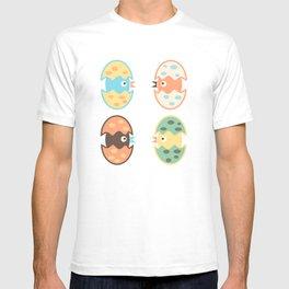 Cute hatched birds T-shirt