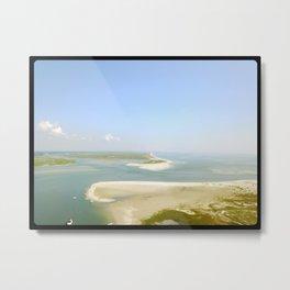 Figure 8 Island North Inlet Aerial Metal Print