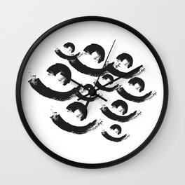 abstract geometry wave  Wall Clock