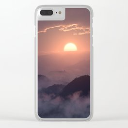 Peace in the Valley Clear iPhone Case