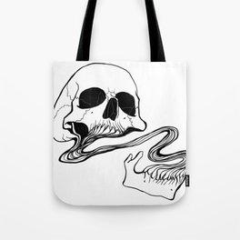 Skull (Grind) Tote Bag